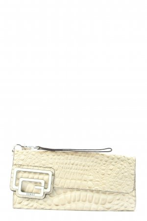 Guess Clutch creme Animalmuster Casual-Look