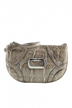 Guess Clutch bronzefarben Allover-Druck Casual-Look