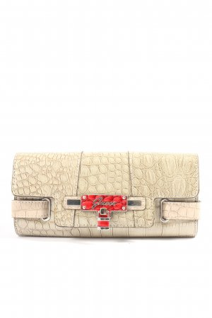 Guess Clutch wollweiß-rot Casual-Look