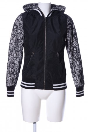 Guess Giacca college nero-bianco stile casual