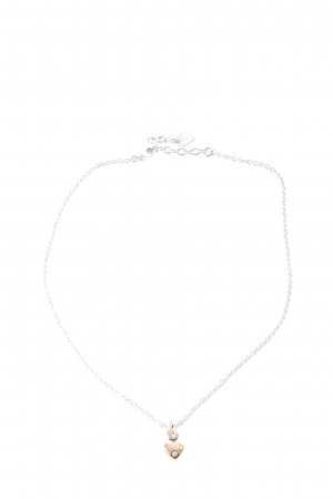 Guess Collier silberfarben Casual-Look
