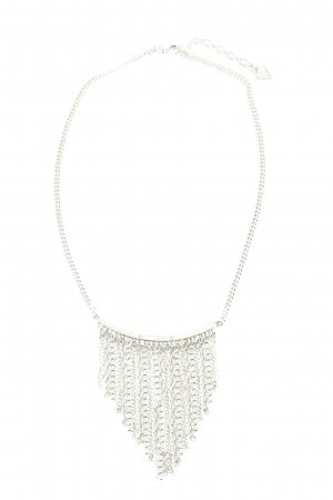 Guess Collier Necklace silver-colored extravagant style