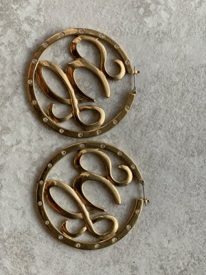 Guess Ear Hoops gold-colored