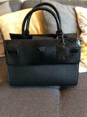Guess Damen Handtasche Cate Satchel