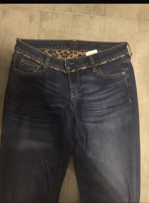 Guess Low Rise jeans donkerblauw