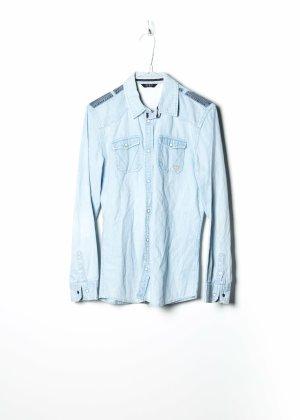 Guess Long Sleeve Shirt blue denim