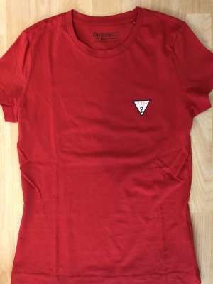 Guess T-shirt rouge fluo