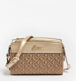 Guess Shoulder Bag light brown-beige