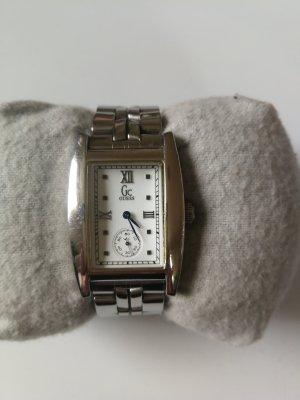 Guess Orologio con cinturino di metallo bianco-argento