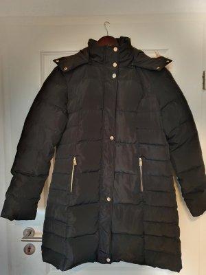 Guess Daunenmantel Mantel Wintermantel schwarz gold gr.  L ungetragen Jacke