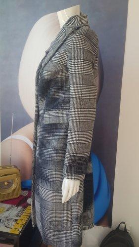 Guess designer Mantel caro pixelart limited  Edition!!!stoffhose neu Blusenshirt silvergrey small