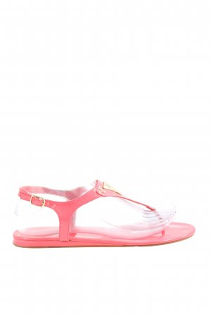 Guess Sandalo toe-post rosa stile casual