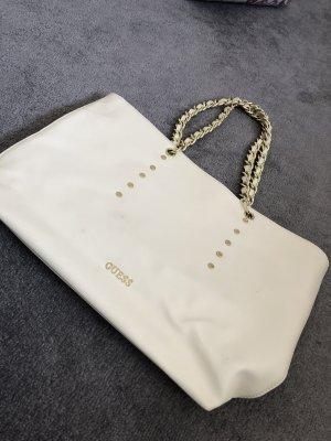Guess Handbag cream-natural white