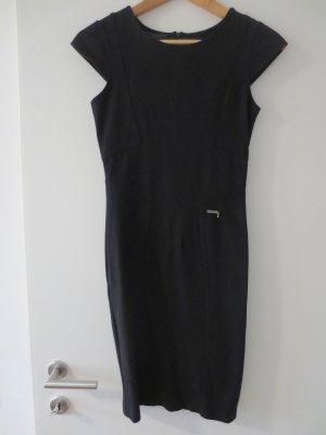 Guess Etui Kleid, Schwarz, kl. Arm, Gr. 34/XS, Knielang, 1x getragen