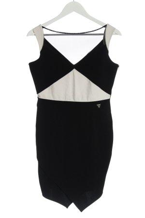 Guess Sheath Dress black-natural white elegant
