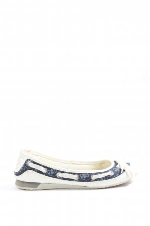 Guess Foldable Ballet Flats natural white-black casual look