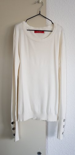 Guess Feinstrick Pullover Creme