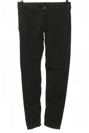 Guess Pantalon cinq poches noir style décontracté