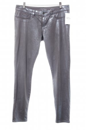 Guess Five-Pocket-Hose grau-graublau Casual-Look