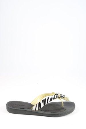 Guess Tong noir-blanc motif animal style décontracté