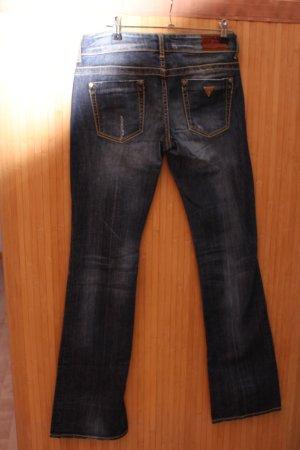 Guess Jeans de moto multicolore coton
