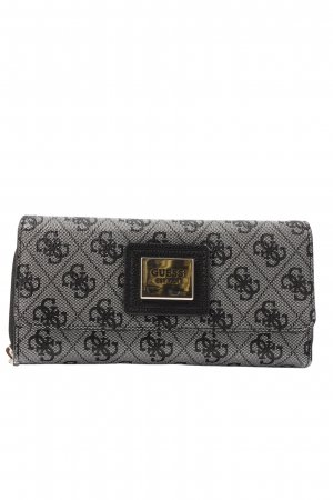Guess Wallet light grey-black allover print casual look