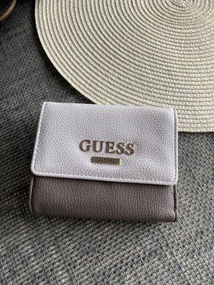 Guess Wallet white-grey brown