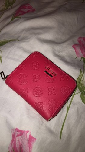 Guess Geldtasche in Pink