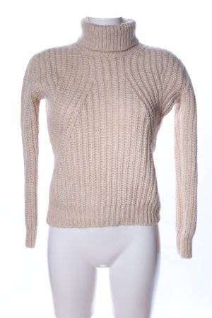 Guess Grobstrickpullover creme Casual-Look