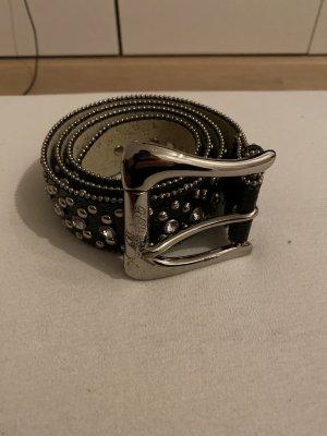 Guess Leather Belt black