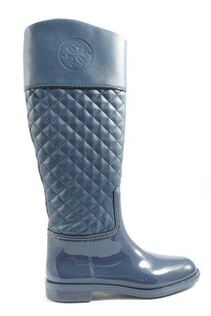 Guess Wellington laarzen blauw quilten patroon casual uitstraling