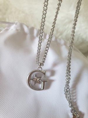 Guess Halskette mit Anhänger Silber - Neu mit Etikett