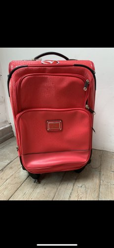 Guess Valise Trolley rouge fluo-rouge framboise