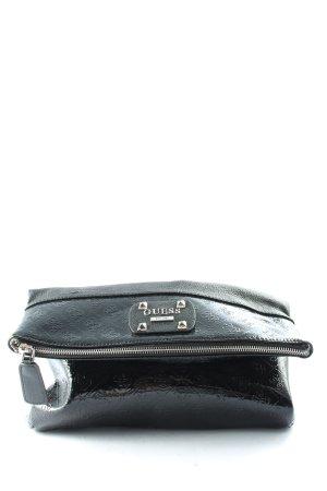 Guess Handtasche schwarz Allover-Druck Casual-Look