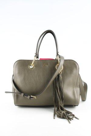 Guess Handtasche khaki Business-Look