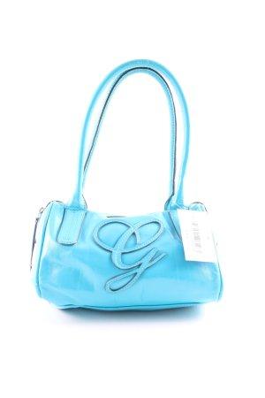 Guess Bolso azul look casual