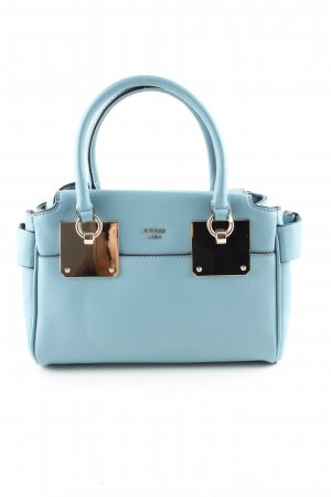 Guess Handtasche blau Business-Look