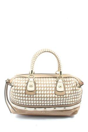 Guess Handtasche creme-weiß Casual-Look
