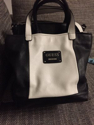 Guess Handbag black-white