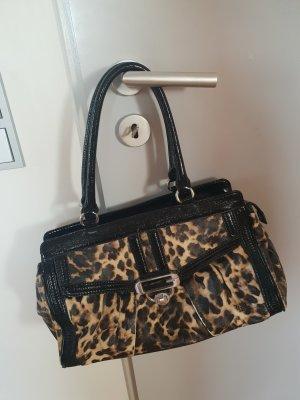 Guess Handbag black-camel