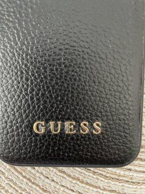 Guess Pokrowiec na telefon komórkowy czarny-złoto