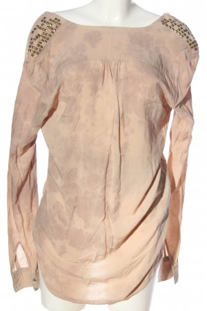 Guess Hemd-Bluse wollweiß-pink Casual-Look