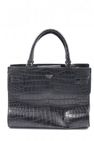 Guess Carry Bag black allover print casual look