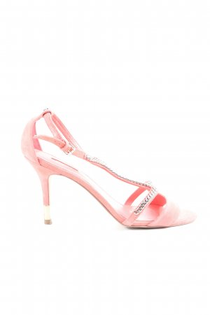 Guess High Heel Sandaletten pink Casual-Look