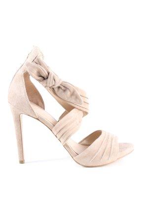 Guess High Heel Sandaletten creme Casual-Look