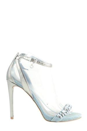 Guess High Heel Sandaletten blau-silberfarben Elegant