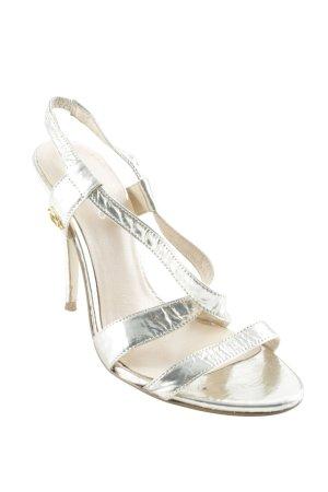 Guess High Heel Sandaletten goldfarben Elegant