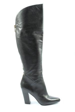 Guess Wysokie buty na obcasie czarny Elegancki
