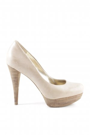 Guess High Heels wollweiß Casual-Look
