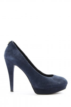 Guess High Heels blau Business-Look